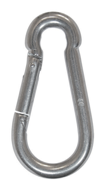 Stainless steel snap hooks photo