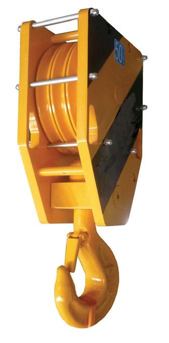 Utility crane block photo